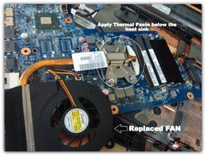 New Laptop Fan