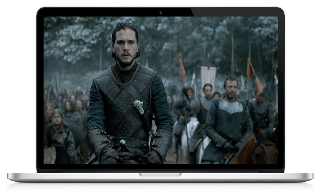 HDTV Print Of GOT