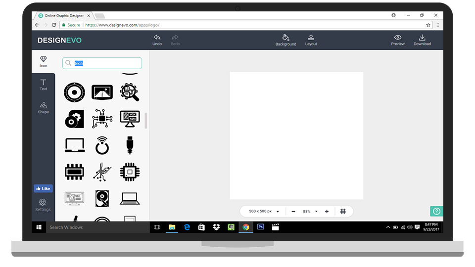 DesignEvo Free Logo Maker Online Review