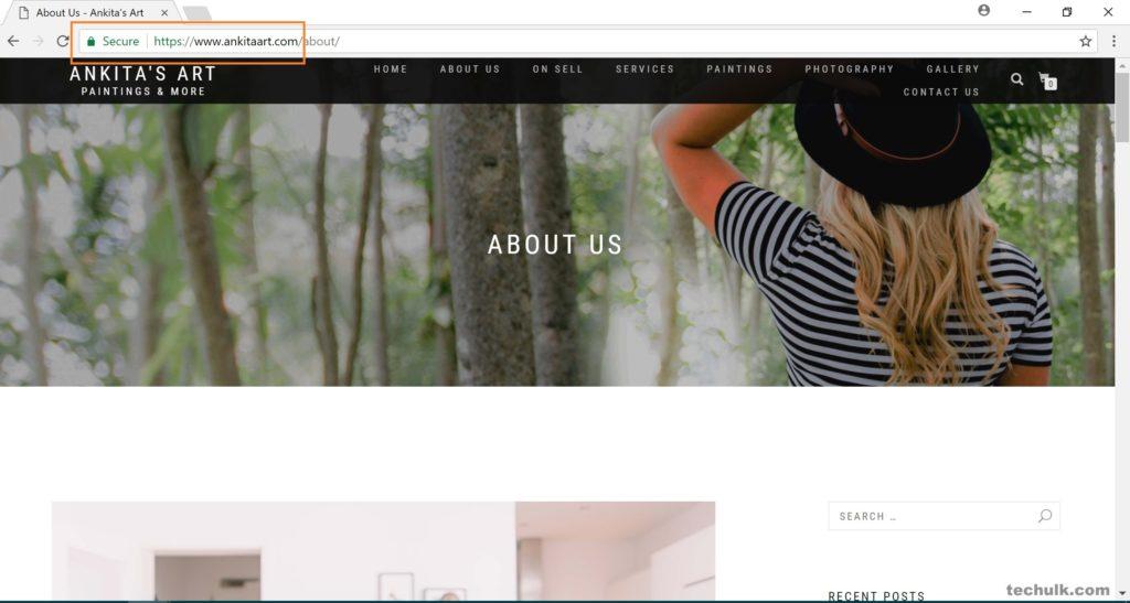 Free SSL for WordPress (Website)