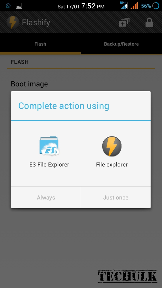 How to flash recovery without pc | Techulk