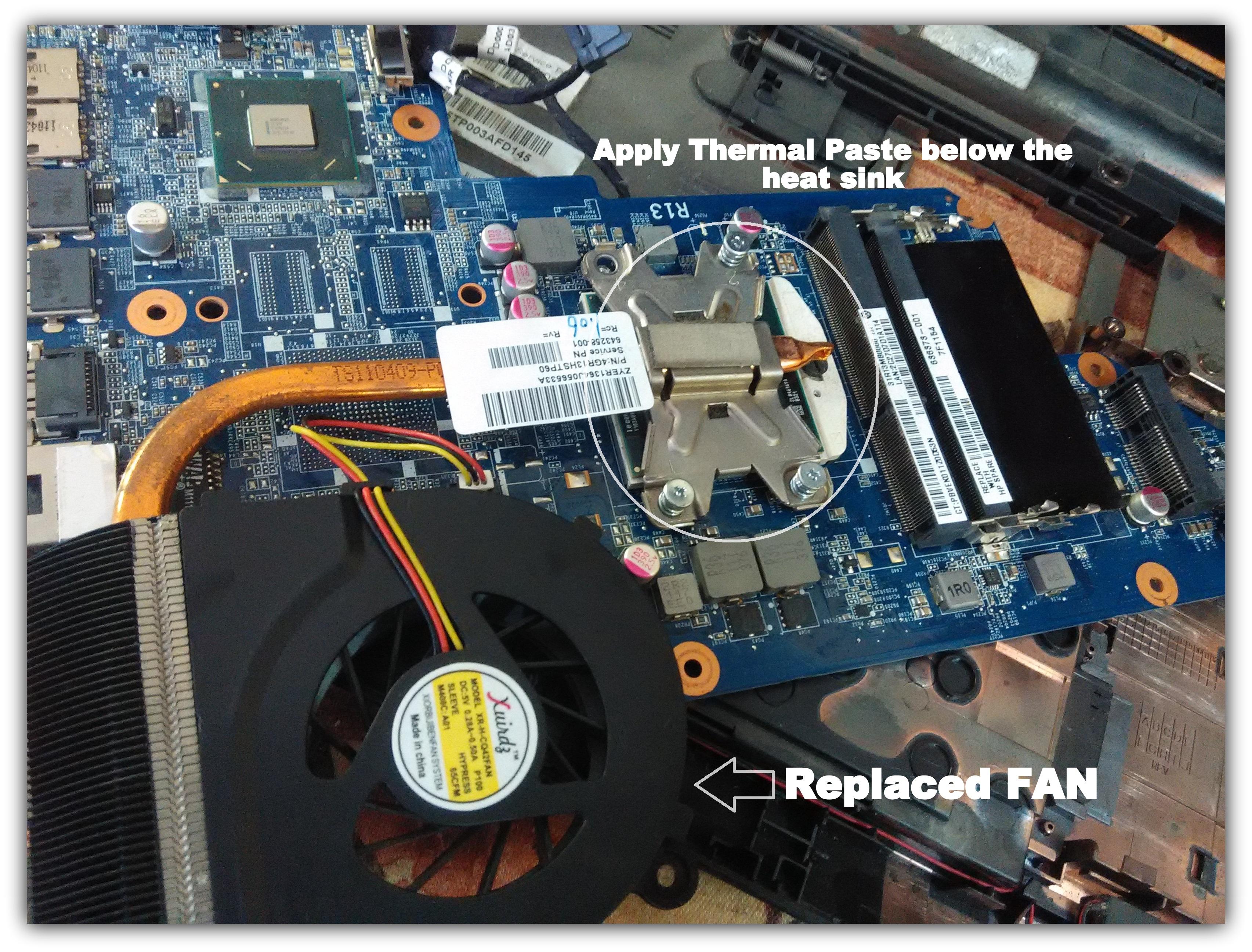 How to fix laptop fan's noise? | Techulk