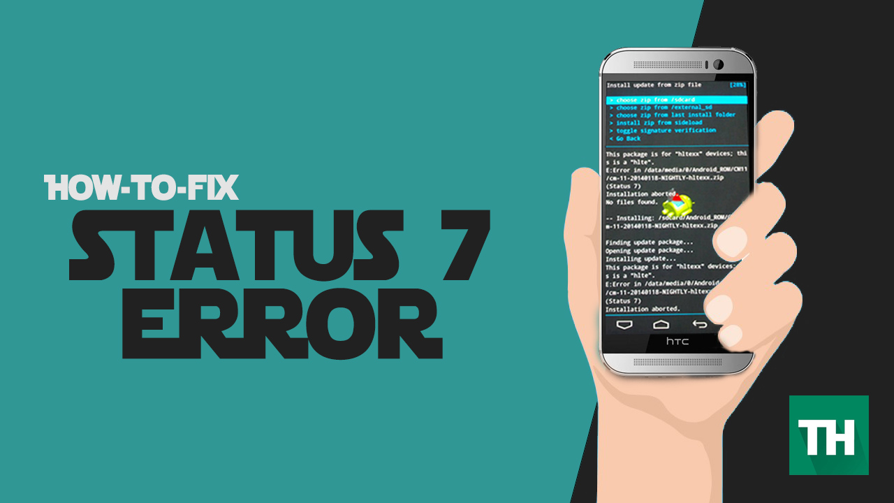 How To Fix Status 7 Error In Recovery (Easy Method) | Techulk