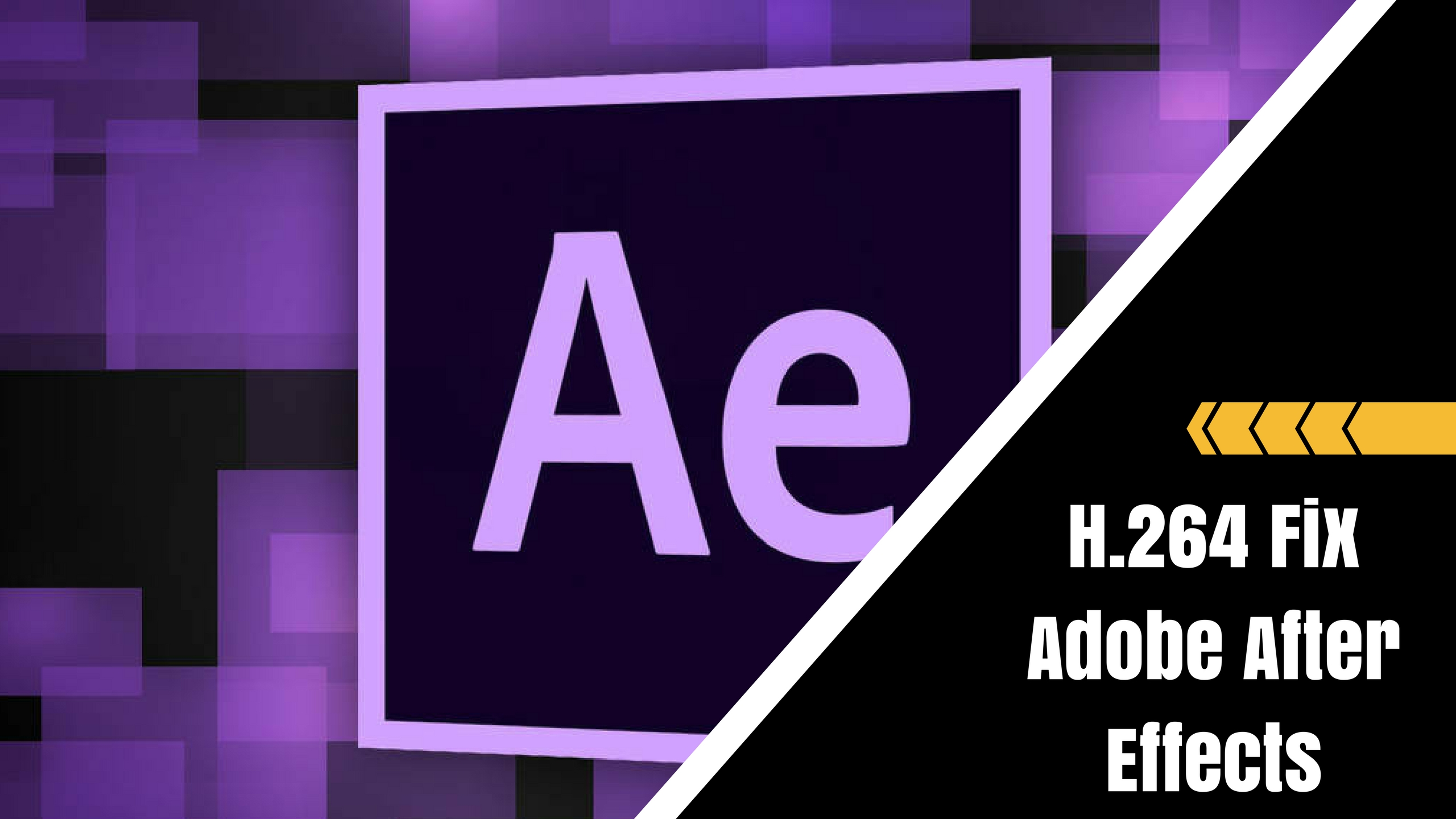 Fix h 264 Adobe After Effects!! | Techulk