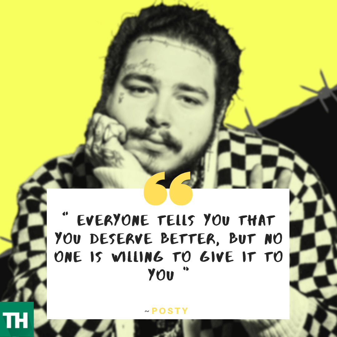 Post Malone Quotes, Status & Images [70+] | Instagram