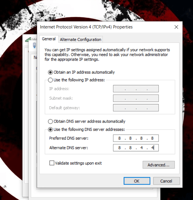 error 0x80072ee7 windows 10