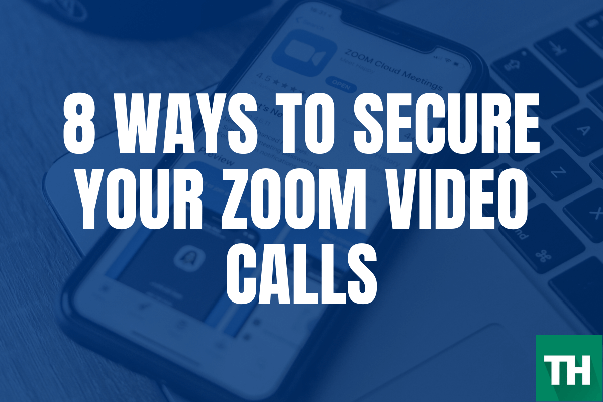 secure zoom video calls