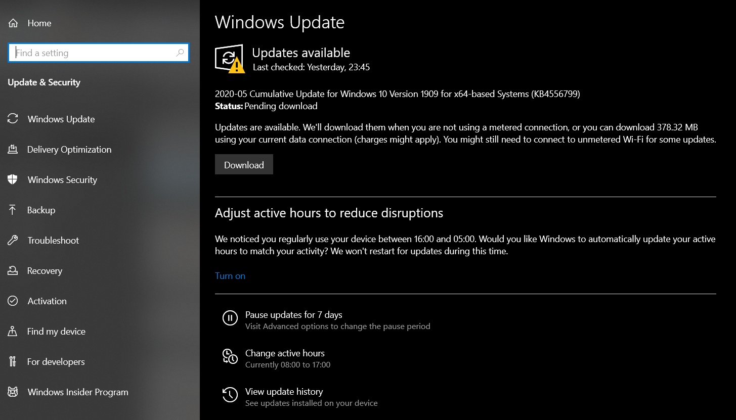 Configure Windows 10