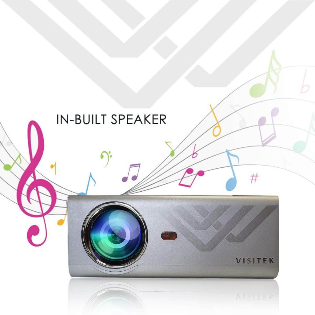 Visitek v3 Standard projector with inbuilt speaker review