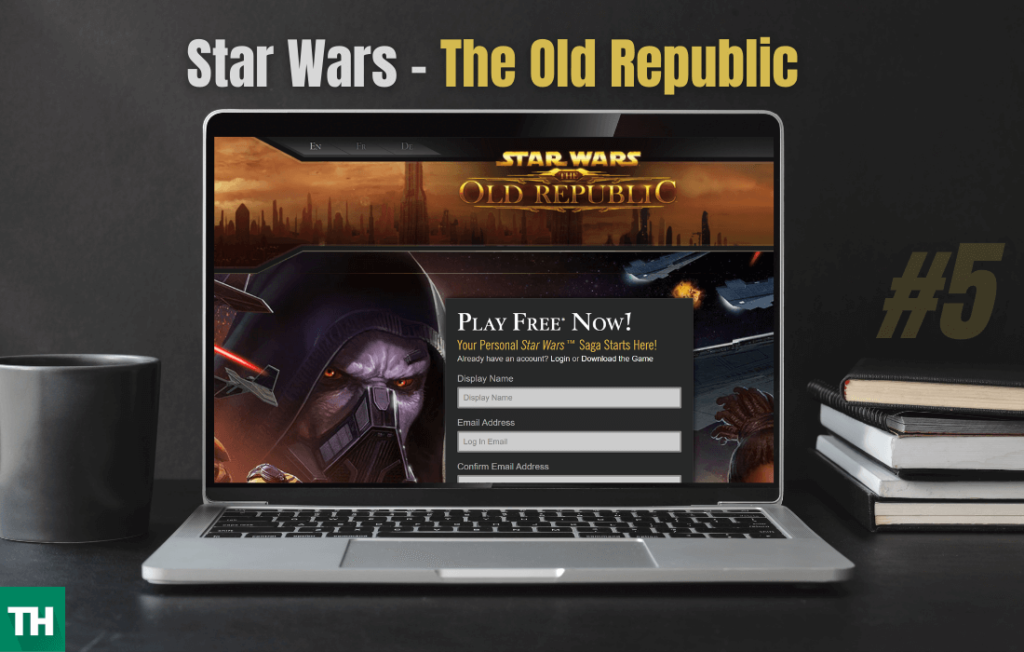 Star Wars The Old Republic Games like eve online