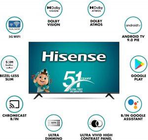 Best tv under 35000 bucks hisense 5- inches tv