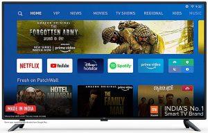 Mi Tv 4k Ultra HD Android LED Tv