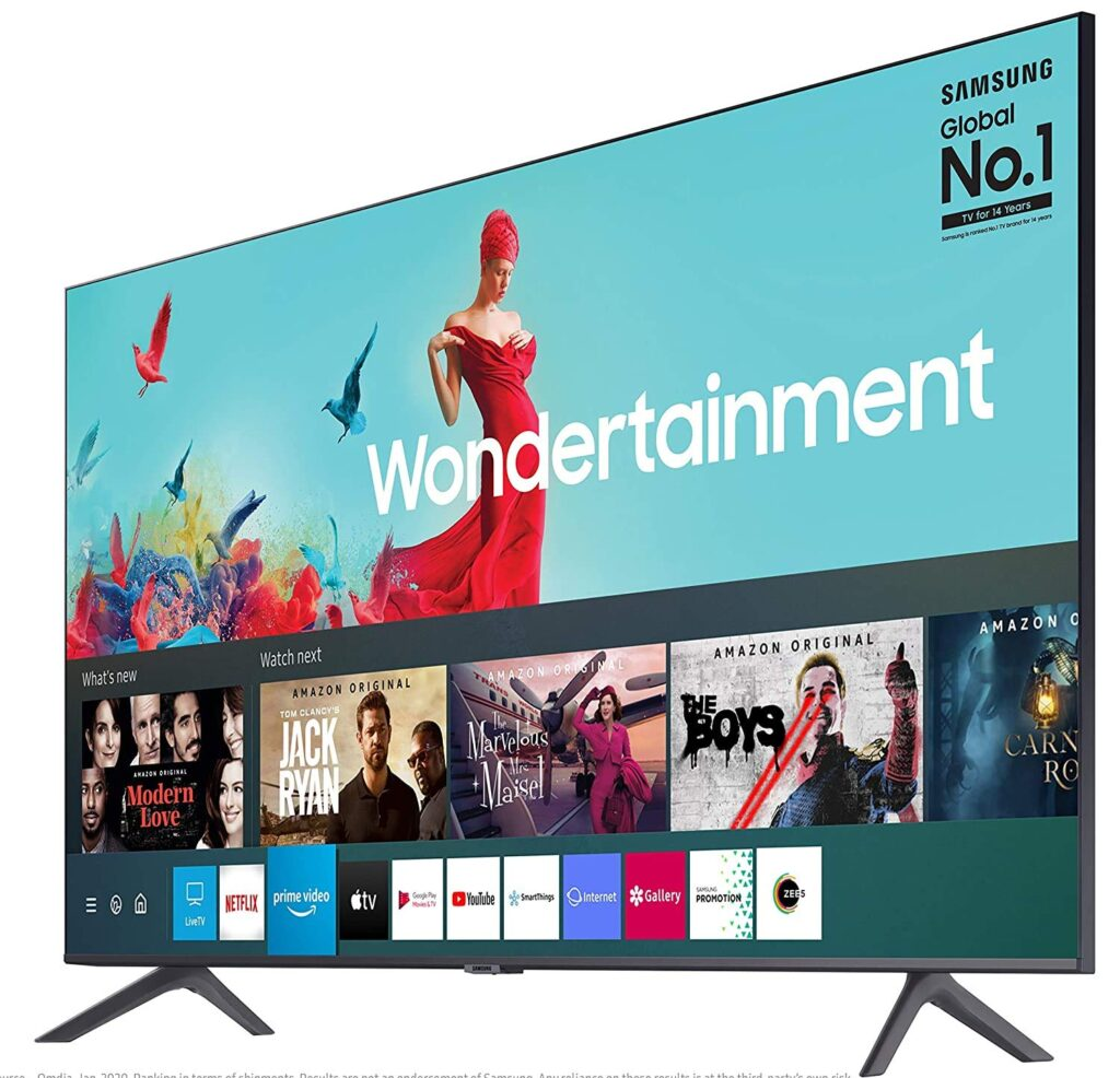 Samsung 4k Ultra HD 50 inches dilsplay Best Tv under 55k