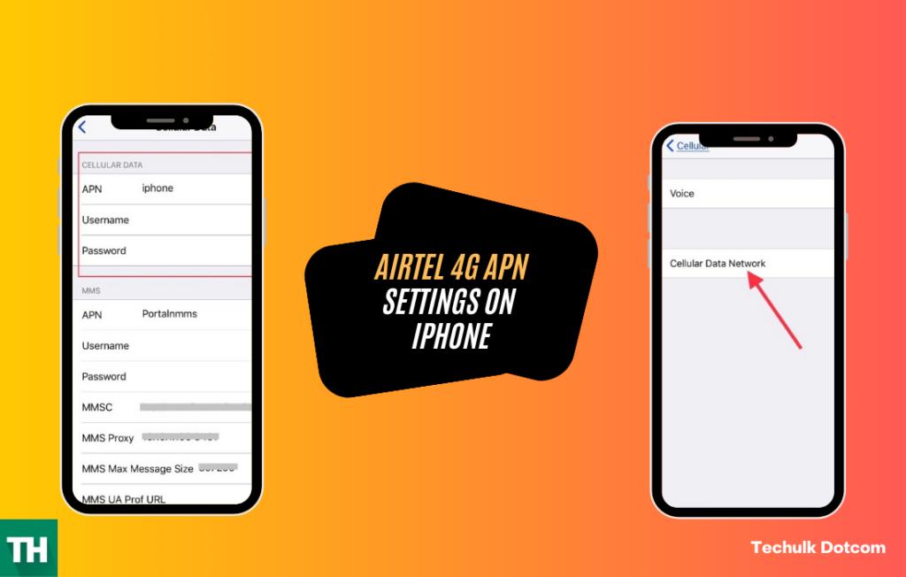 Best airtel apn settings for iphone users